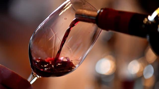 Du vin rouge (photo d'illustration)