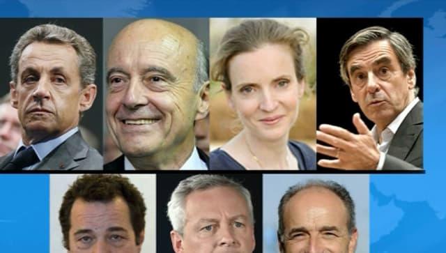 Les sept candidats de la primaire de la droite (Photo d'illustration)