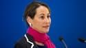 Ségolène Royal lors d'une conférence de presse sur le climat, le 14 avril à Paris.