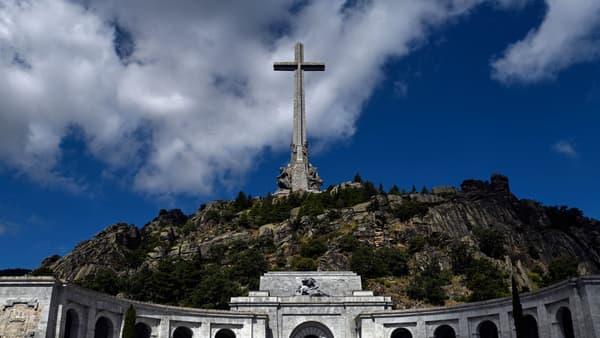 """La """"Valle de los Caidos"""" à côté de Madrid, où est enterré Franco"""