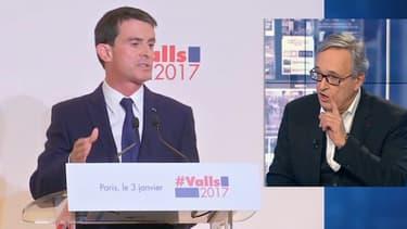 Francis Chouat a défendu Manuel Valls sur BFMTV