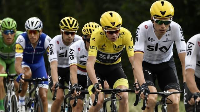 Chris Froome et les Sky contrôlent la course