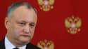 Igor Dodon, président de la Moldavie.