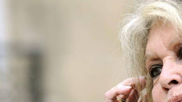 Brigitte Bardot, le 27 septembre 2007, à Paris.