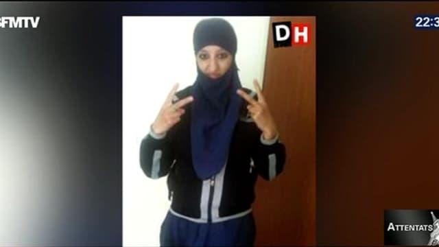 La jeune femme est soupçonnée d'avoir aidée Abdelhamid Abaaoud dans sa cavale.