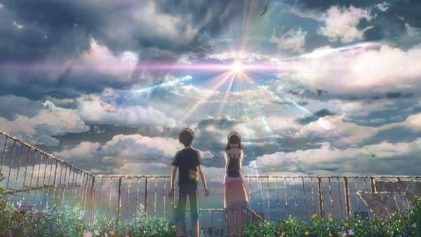 Les Enfants du temps de Makoto Shinkai