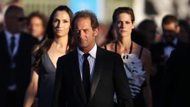 Vincent Lindon, président du jury du 39 festival de Deauville, Famke Janssen et Hélène Filière, également membres du jury.