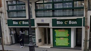 Magasin Bio c'Bon à Paris (Google Street View).