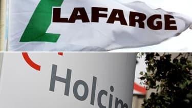 Lafarge et Holcim devrait créer une nouvelle entité basée en Suisse.