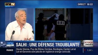 Attentat en Isère: Yassin Salhi a nié toute motivation religieuse ou terroriste