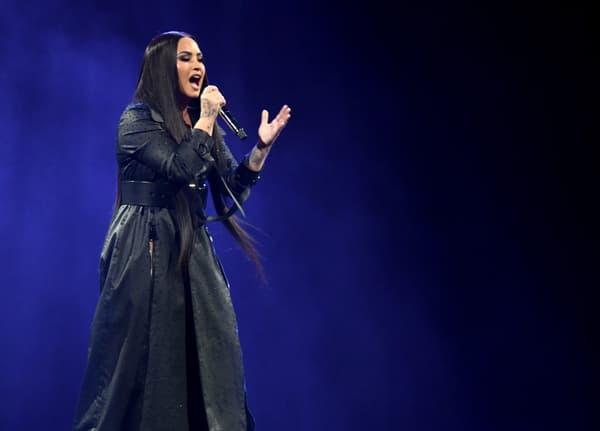 Demi Lovato en concert à Inglewood le 2 mars 2018