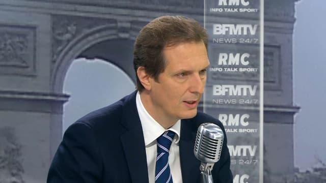 Jérôme Chartier était l'invité de BFMTV et RMC ce mardi.