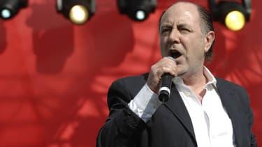 Michel Delpech, le 1er mai 2007
