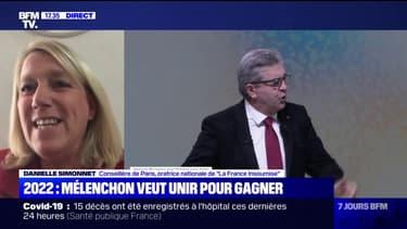 """Présidentielle: """"L'abstention profite à Macron"""", plante Danielle Simonnet de La France Insoumise"""