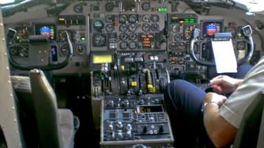 Le pilote avait passé une nuit agitée la veille du vol... (illustration)