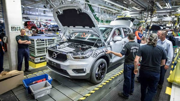 C'est dans l'usine de Gand (Belgique) où est produit ce XC40 que sera aussi produit le Lynk&Co 01.