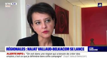 """Régionales en Auvergne-Rhône-Alpes: Najat Vallaud-Belkacem """"ne ferme pas la porte"""" aux discussions avec EELV"""