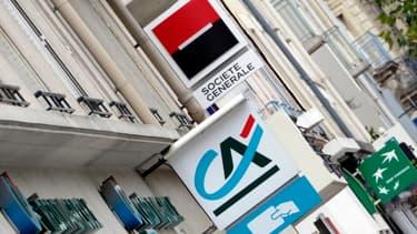 Les effectifs des banques commerciales françaises ont reculé en 2013.