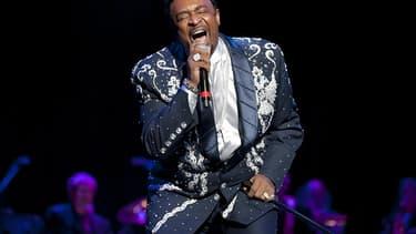 Dennis Edwards, en 2011 au Rock and roll Hall of Fame à Cleveland.