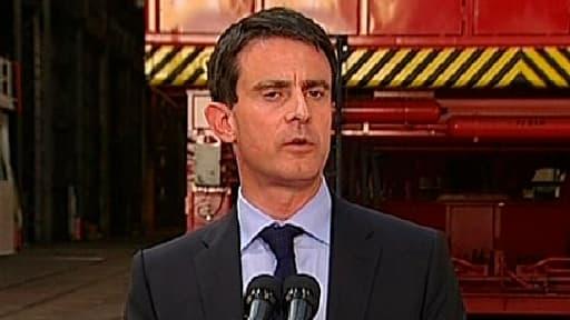 Depuis la Bourgogne, le Premier ministre manuel Valls a assuré que le nucléaire était une filière d'avenir en France.