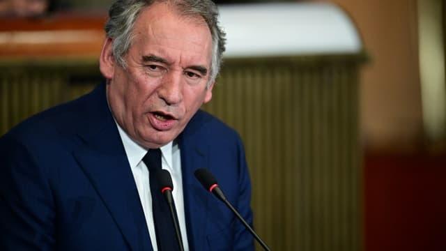 Le président du Modem François Bayrou en septembre 2020 à Paris