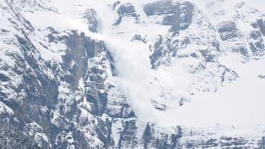 Photo d'illustration d'une avalanche.