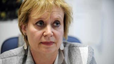 La juge Isabelle Prévost-Desprez dans son bureau à Nanterre, en septembre 2010.