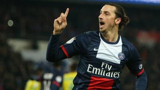 Zlatan Ibrahimovic, le joueur vedette, du PSG.