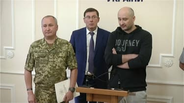Arkadi Babtchenko le 30 mai 2018, à Kiev.