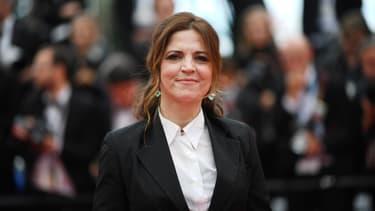 La comédienne et réalisatrice Agnès Jaoui au festival de Cannes en 2019.