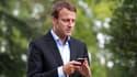 Emmanuel Macron, ministre de l'Economie, le 27 août 2015