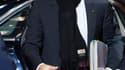 Nicolas Sarkozy, à son arrivée au sommet européen de Bruxelles. Le président français affirme que des progrès ont été accomplis dans les discussions en cours sur la crise des dettes souveraines de la zone euro même si des solutions restent à trouver d'ici
