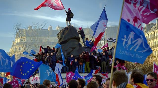 Le dernier défilé de la Manif pour tous avait eu lieu le 2 février 2014.
