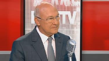 Michel Sapin, ministre de l'Emploi, sur BFMTV