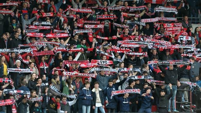 Les supporters de Guingamp
