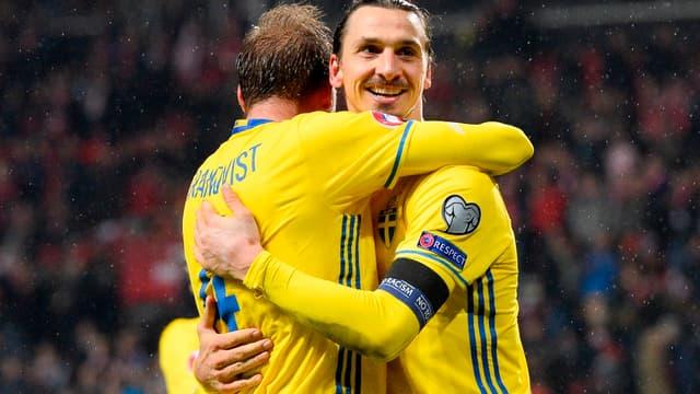 Zlatan Ibrahimovic, phare et pilier de l'équipe de Suède