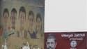 Affiche électorale de Mohamed Morsi, dans les rues du Caire. La commission électorale égyptienne a confirmé que le second tour, les 16 et 17 juin, du scrutin présidentiel opposerait le candidat des Frères musulmans, Mohamed Morsi, au dernier Premier minis