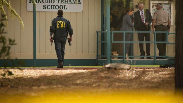 L'école prise pour cible par le tireur en Californie.