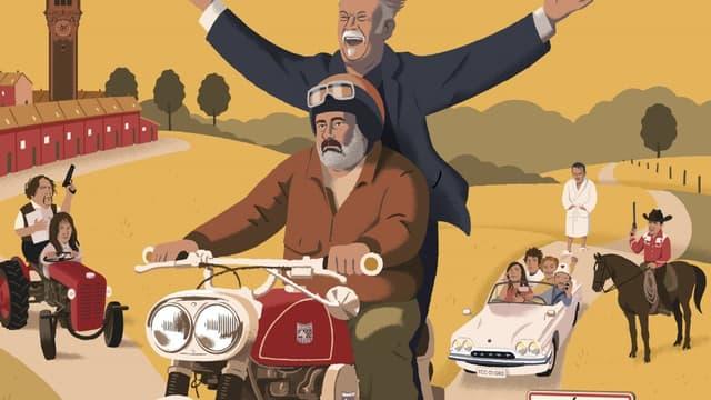 L'affiche de la 4e édition du Festival CineComedies