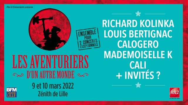 """Affiche des spectacles """"Les Aventuriers d'un Autre Monde"""""""