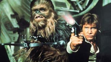 "Harrison Ford dans la saga ""Star Wars"""
