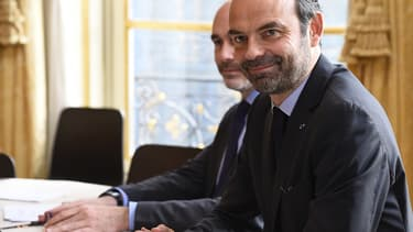 Edouard Philippe a reçu les chefs de partis ce mercredi à Matignon.