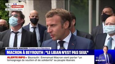 """Emmanuel Macron: la France prendra des initiatives """"pour coordonner l'aide internationale"""""""