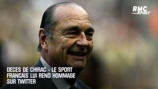 Décès de Chirac : le sport français lui rend hommage sur Twitter