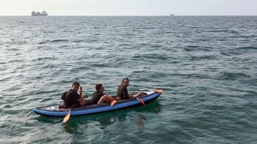 Trois migrants repérés au large de Calais le 4 août 2018