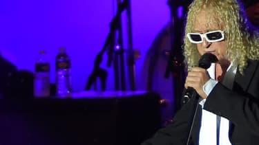 Michel Polnareff sur scène à Cognac pendant sa tournée en 2016