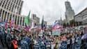 Une manifestation en Russie