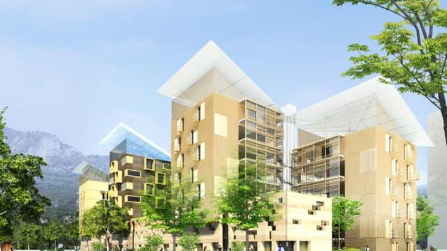 Bouygues Construction et la ville de Grenoble ont signé un partenariat pour construire un ilôt d'habitat collectif visant l'autonomie.
