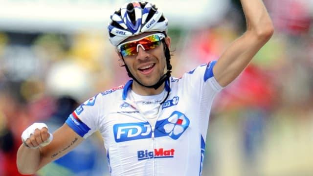 Thibaut Pinot remporte la 8e étape du Tour 2012
