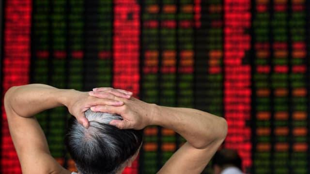 La Bourse de Shanghai (image d'illustration)